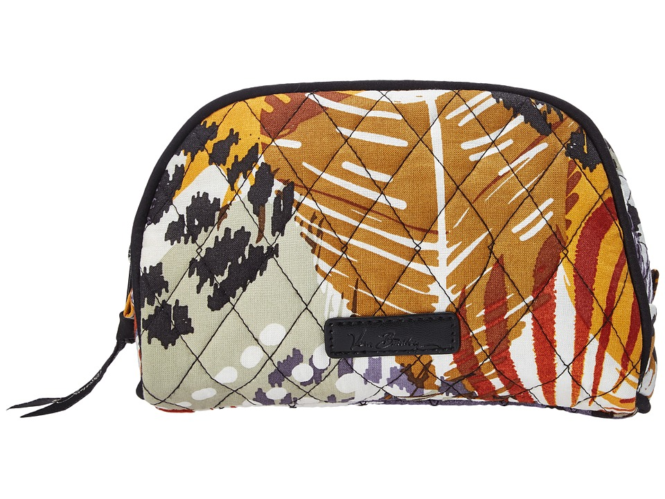 Vera Bradley Luggage - Small Zip Cosmetic (Painted Feathers) Cosmetic Case