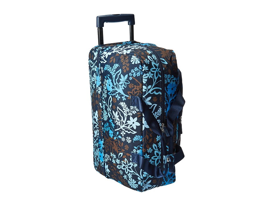 Vera Bradley Luggage - Lighten Up Wheeled Carry-on (Java Floral) Carry on Luggage