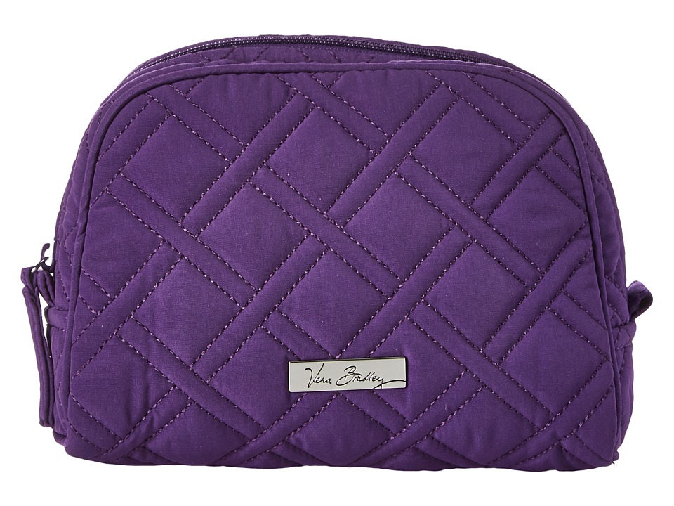 Vera Bradley Luggage - Medium Zip Cosmetic (Elderberry) Cosmetic Case