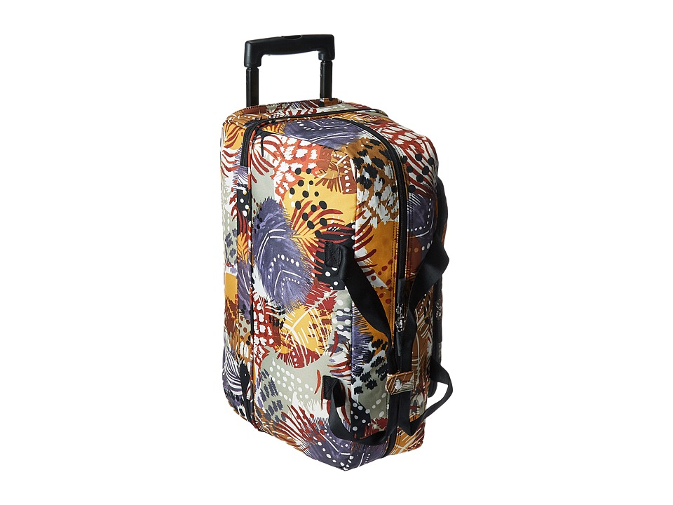 Vera Bradley Luggage - Lighten Up Wheeled Carry-on (Painted Feathers) Carry on Luggage