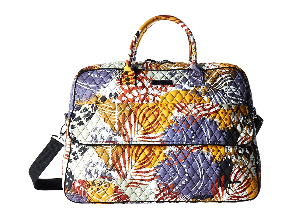 Vera Bradley Luggage - Grand Traveler (Painted Feathers) Duffel Bags