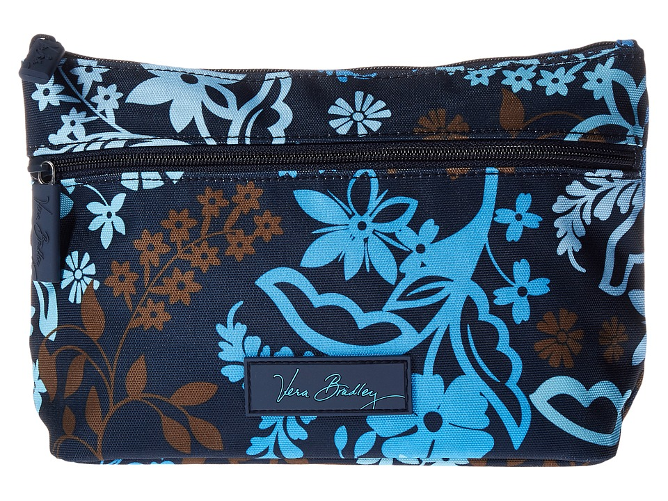 Vera Bradley Luggage - Lighten Up Travel Cosmetic (Java Floral) Cosmetic Case