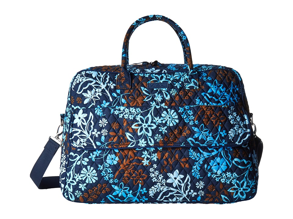 Vera Bradley Luggage - Grand Traveler (Java Floral) Duffel Bags
