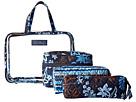 Vera Bradley Luggage - Four-Piece Cosmetic Organizer