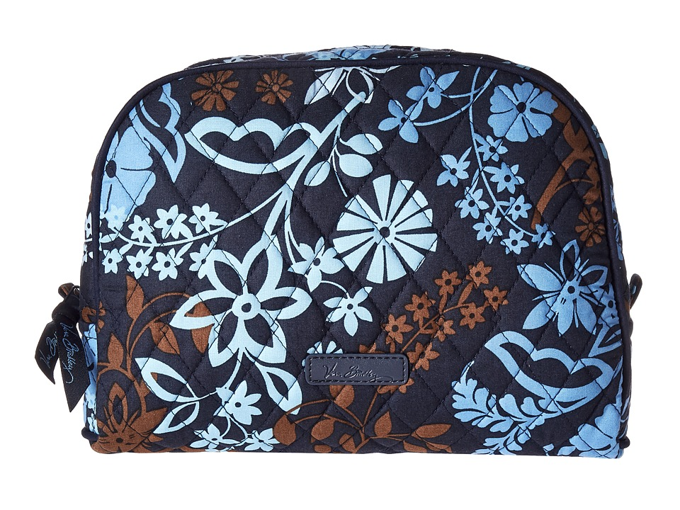 Vera Bradley Luggage - Large Zip Cosmetic (Java Floral) Cosmetic Case