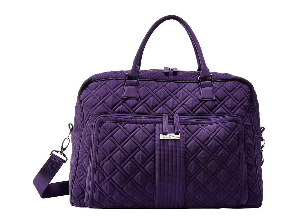 Vera Bradley Luggage - Weekender (Elderberry) Duffel Bags