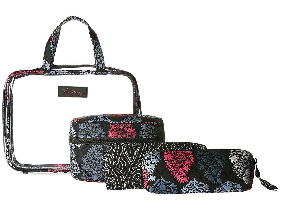 Vera Bradley Luggage Four-Piece Cosmetic Organizer (Northern Lights) Cosmetic Case