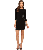 Jessica Simpson - 3/4 Sleeve Dress with Side Ruche Detail JS6D8648
