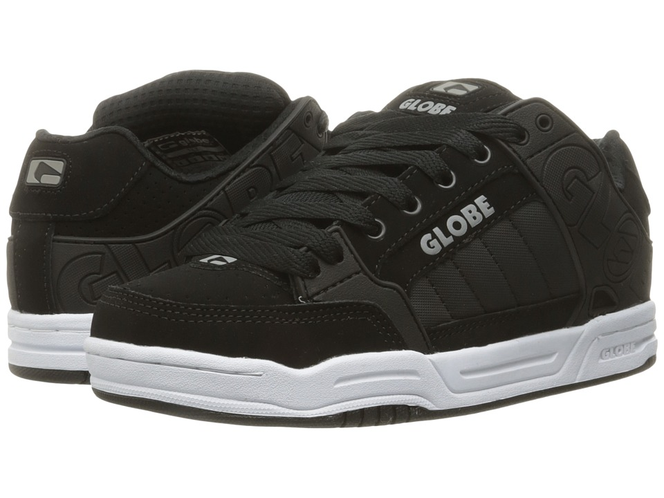 Globe - Tilt (Black/Black/White) Mens Skate Shoes