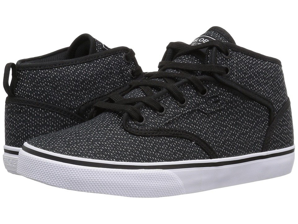 Globe Motley Mid (Black Woven/White) Men