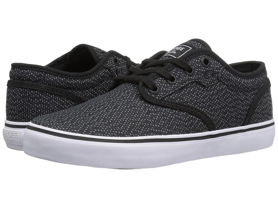 Globe Motley (Black Woven/White) Men