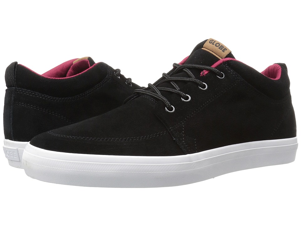 Globe GS Chukka (Black/Red) Men