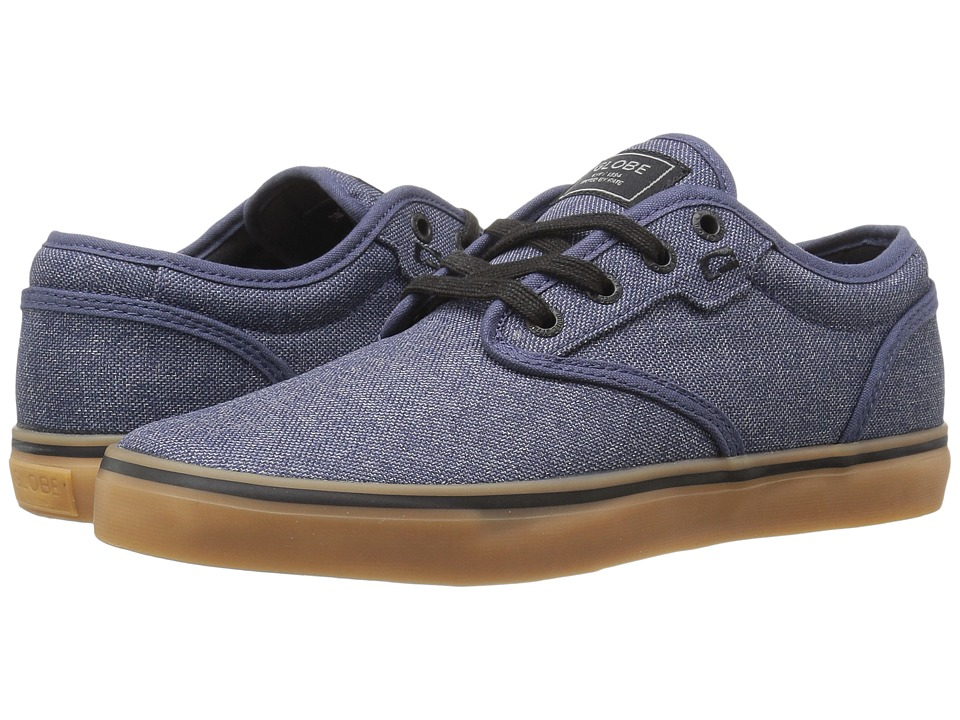 Globe Motley (Navy Chambray/Gum) Men
