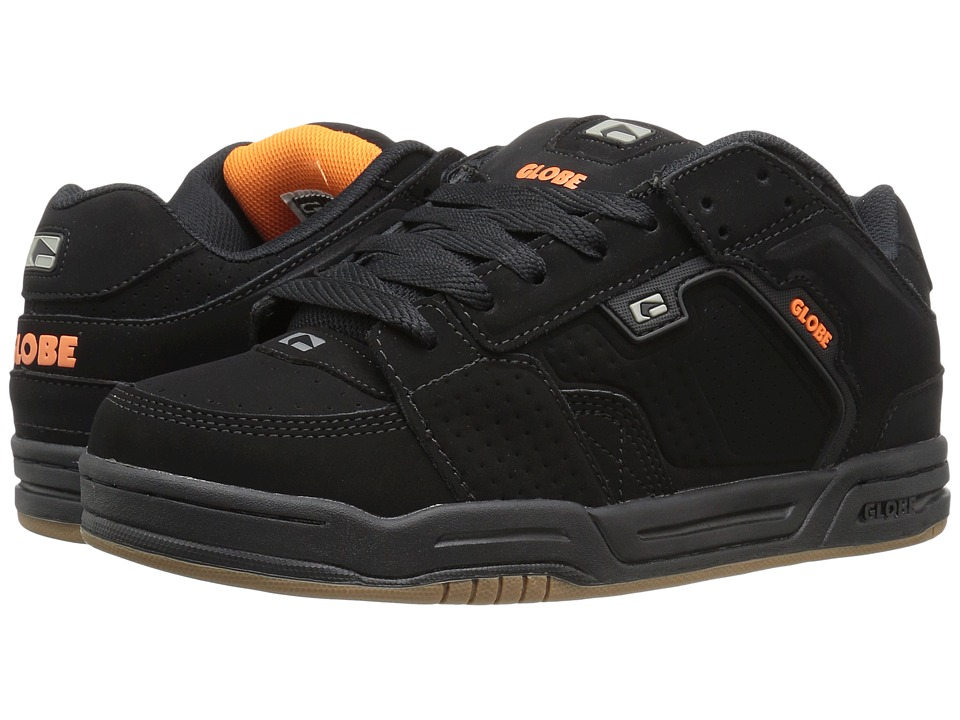 Globe - Scribe (Black/Black/Orange) Mens Skate Shoes