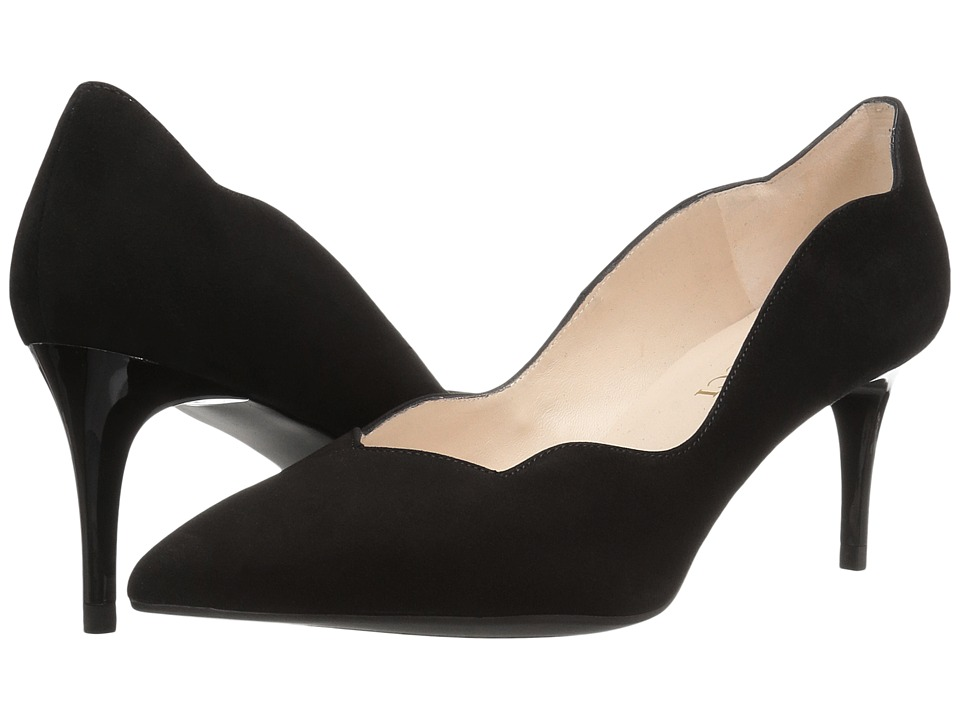 Sesto Meucci 27935 (Black Suede) High Heels