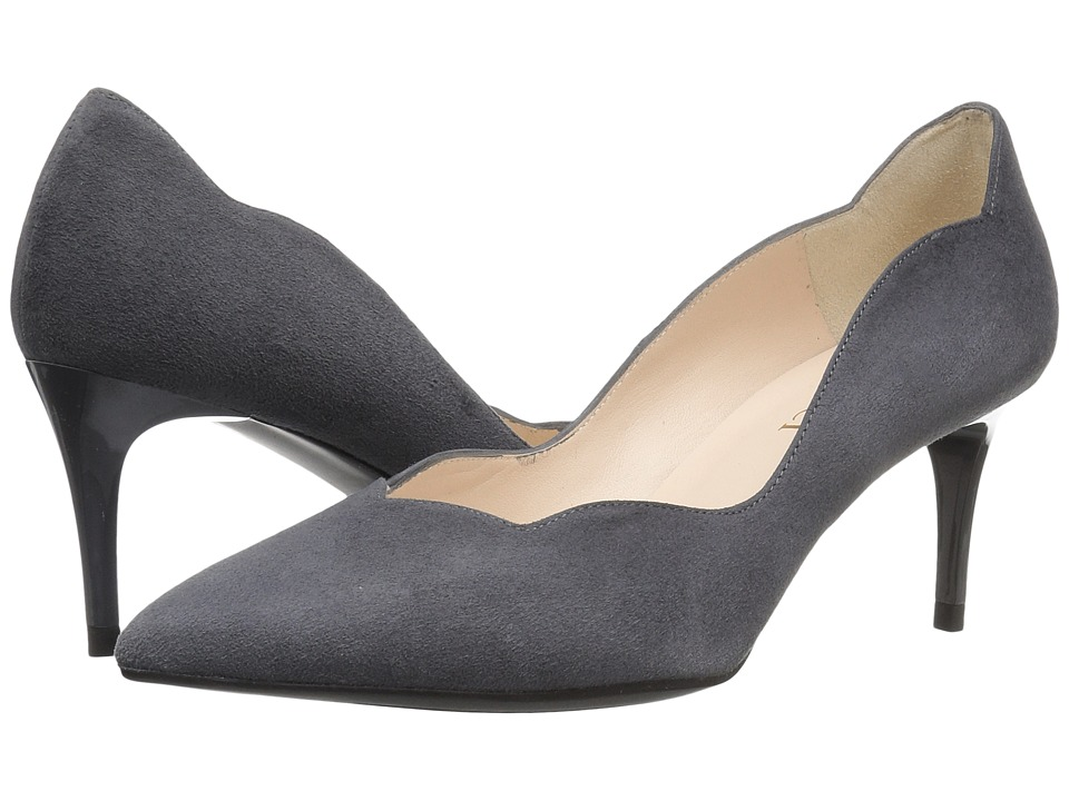 Sesto Meucci 27935 (Carbon Grey Suede) High Heels