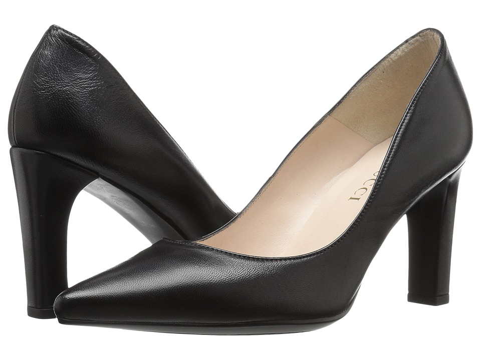 Sesto Meucci 28173 (Black Kid Nappa) High Heels