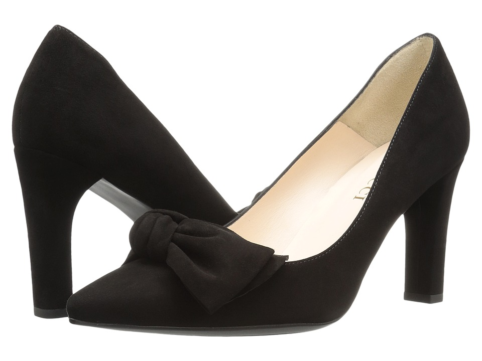 Sesto Meucci 28375 (Black Suede) High Heels