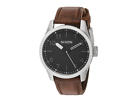 Nixon The Safari Leather X British Millerain Collection - Silver/Black/Brown