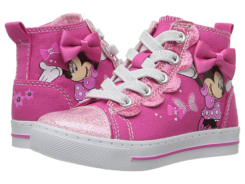 Josmo Kids Minnie Mouse High Top (Toddler/Little Kid) - Fuchsia