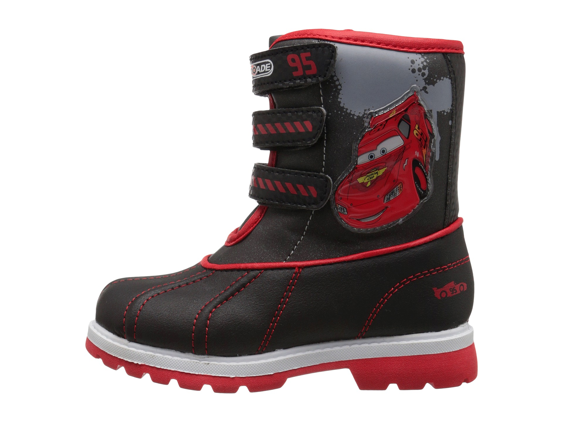 Josmo Kids Cars Snow Boots (Toddler/Little Kid) - Zappos.com Free ...