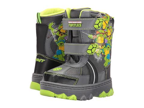 Josmo Kids Ninja Turtle Snow Boots (Toddler/Little Kid) - Grey/Green