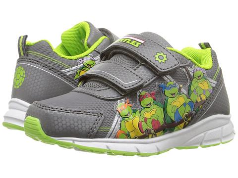 Josmo Kids Ninja Turtle Lighted Sneakers (Toddler/Little Kid) - Grey/Green