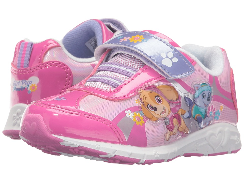 Josmo Kids - Paw Patrol Sneaker (Toddler/Little Kid) (Fuchsia Multi) Girls Shoes