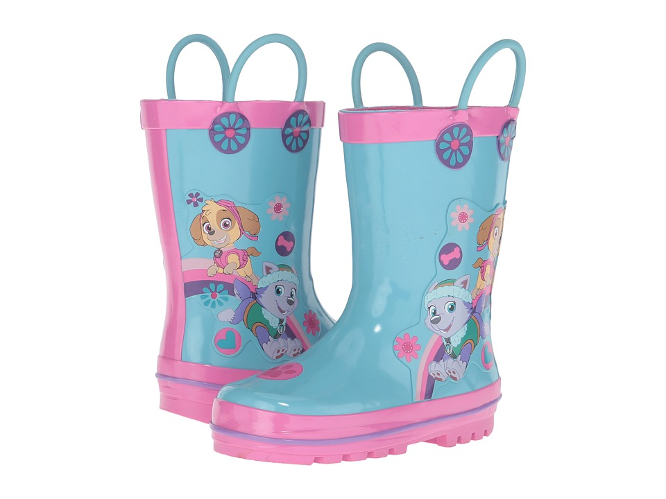 Josmo Kids Paw Patrol Rain Boots (Toddler/Little Kid) (Light Blue/Pink) Girls Shoes