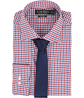 LAUREN Ralph Lauren - Classic Warren Collar with Pocket Dress Shirt