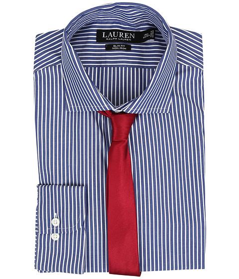 LAUREN Ralph Lauren Slim Estate Collar - Bond/Navy/White
