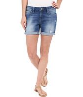 Mavi Jeans - Pixie Mid-Rise Boyfriend Shorts in Aqua Vintage