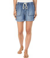 Mavi Jeans - Laila Shorts in Indigo Brushed Super Soft Tencel