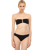 Proenza Schouler - Barbell Trim Bandeau Top w/ Low Waisted Bottom