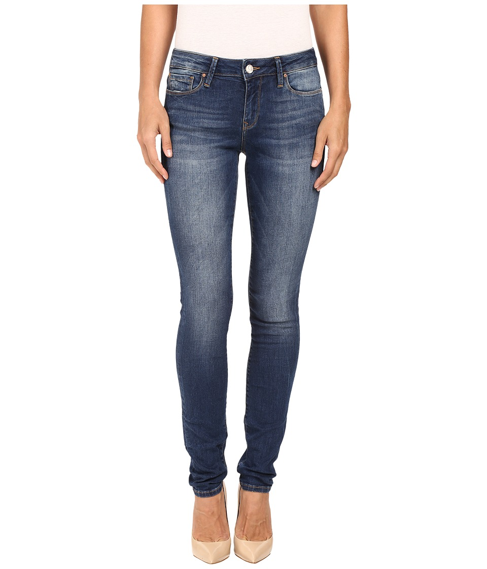 Mavi Jeans Alexa Mid-Rise Skinny in Dark Indigo Tribeca (Dark Indigo Tribeca) Women