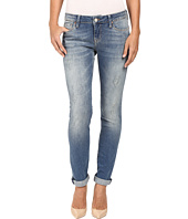 Mavi Jeans - Emma Slim Boyfriend in Mid Shaded Vintage