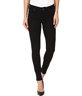 Mavi Jeans - Adriana Mid-Rise Super Skinny in Double Black Tribeca
