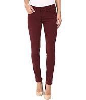 Mavi Jeans - Alexa Mid-Rise Skinny in Burgundy Sateen Twill