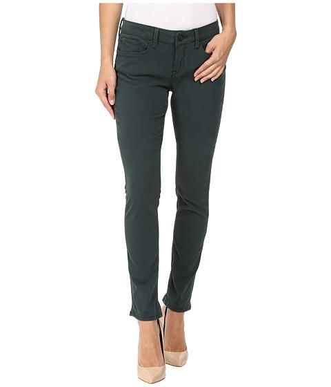Mavi Jeans Alexa Mid-Rise Skinny in Pine Sateen Twill