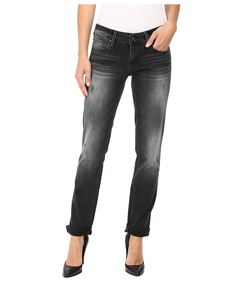Mavi Jeans Emma Slim Boyfriend in Smoke Vintage