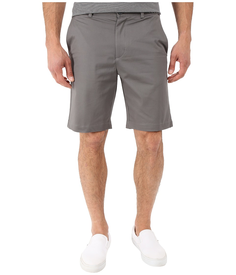 Perry Ellis Slim Fit Twill Shorts Castlerock Mens Shorts