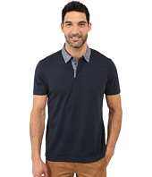 Perry Ellis - Pima Polo with Woven Collar