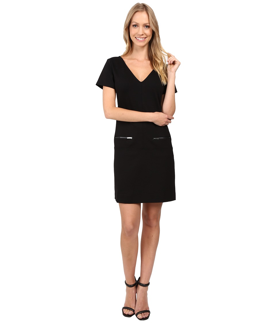 Sanctuary Little Zip Dress (Black) Women