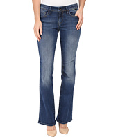 Mavi Jeans - Ashley Mid-Rise Bootcut in Mid Indigo Gold