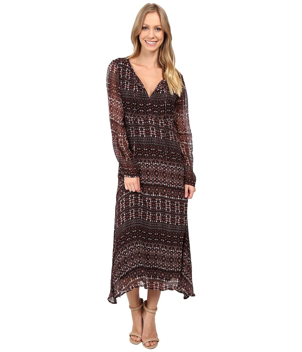 Sanctuary Fleur Midi Dress (Dark Autumn) Women