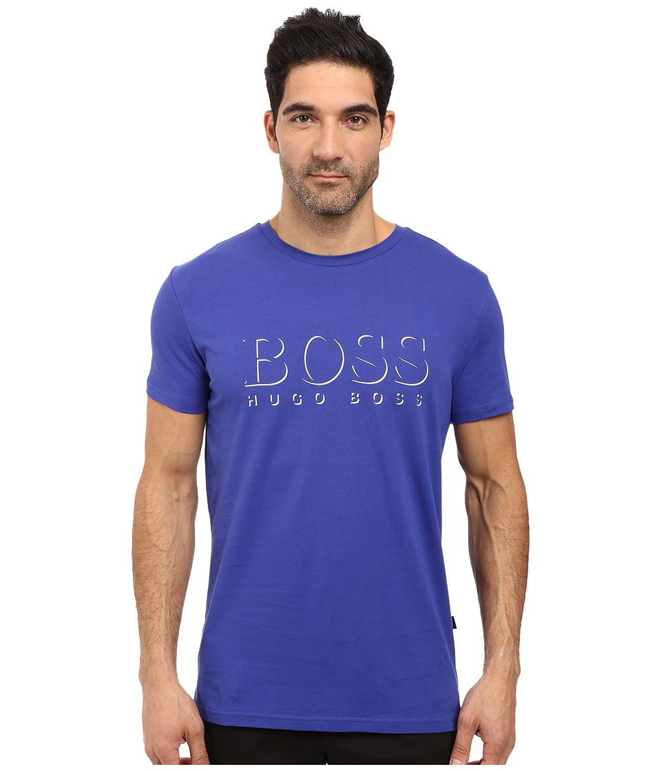BOSS Hugo Boss - T-Shirt RN 10144419 (Medium Blue) Men