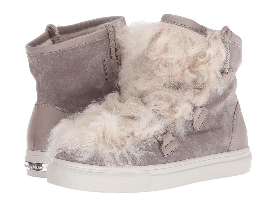 Kennel & Schmenger - Shearling Puff Sneaker (Tundra Suede/Shearling) Women's Shoes