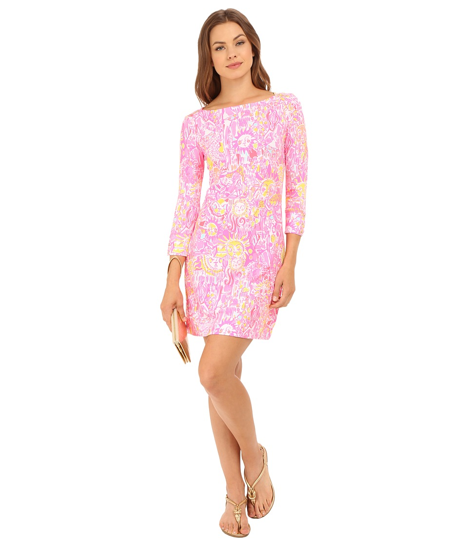 Lilly Pulitzer UPF 50 Sophie Dress Pink Pout More Kinis In The Keys Womens Dress