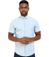 Original Penguin - Short Sleeve Washed Indigo Lawn