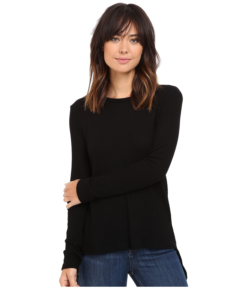 LNA - Waffle Ace Sweater (Black) Women